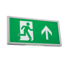 Exit Sign Lighting Requirements 3w Spectrum Led Emergency Slim Exit Sign 6500k Including Up