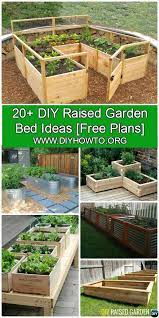 more than 20 diy raised garden bed