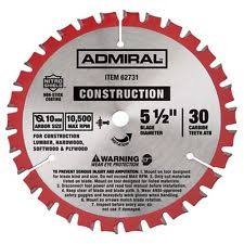 5 1 2 circular saw blade. admiral circular saw blade 5-1/2 in. 30t ultra thin kerf with 5 1 2