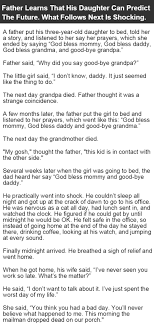 father learns his daughter can predict the future what happens  father learns his daughter can predict the future what happens next is shocking funny jokes story