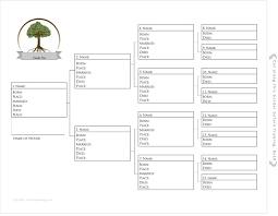 Printable Pedigree Chart Family Search Www