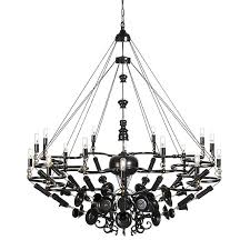 exploded chandelier old and new night pertaining to modern property second hand chandeliers ideas