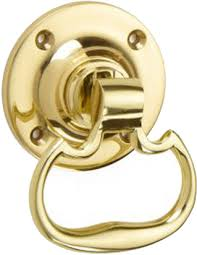 croft architectural plain dutch drop ring door handles various finishes available