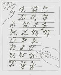 Cursive Handwriting Letters – dailypoll.co