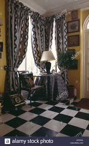 Black Patterned Curtains Simple Inspiration Ideas