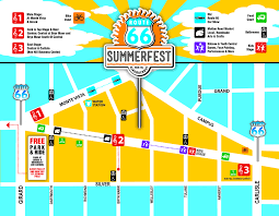 Map Of Summerfest Stages American Family Insurance
