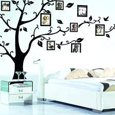 family tree wall art decal family tree picture frame wall decor stickers large family tree wall