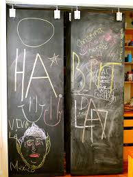 diy chalkboard doors read how to make your own here