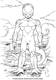 Dragon Ball Z Coloring Page Tv Series Picgifs Com Pages Chronicles