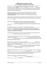 ks macbeth act teachit english  1 preview