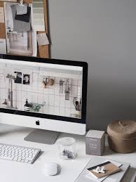 grey home office. A Cosy, Grey Home Office For Freelance Creative - My Makeover Reveal D