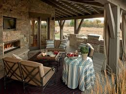 Outdoor Living Room Designs Gracefl Brown Outdoor Living Space Exterior Paired With
