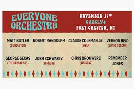 Everyone Orchestra With Matt Butler Ft Special Guest Robert
