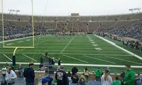 Notre Dame Stadium Seating Chart Garth Brooks Photos At Notre Dame Stadium That Are Behind An Endzone