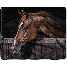 Horse Throw Blanket Walmart