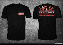 Cool Construction T Shirt Designs Construction T Shirt Design For Greater Dayton Construction