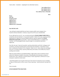 10 Cover Letter Examples Pdf 1mundoreal
