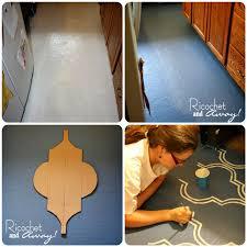 can you paint vinyl flooring interesting ricochet and away i painted my vinyl floor