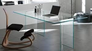 large glass office desk. Charming Tonelli Bacco Glass Desk Desks Home Office Furniture Large E