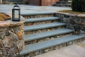 ideas for front porch steps steps prefab deck stairs exterior stone stair designs outside with landing
