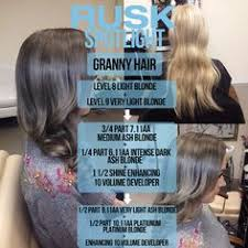 Rusk Toner Chart 16 Best Rusk Formulas Images Hair Color Formulas Hair