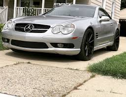 Body styles, trim levels and options: 2003 Mercedes Benz Sl55 Amg Kompressor With 20x8 5 Tsw Clypse And Nitto 245x30 On Stock Suspension 1258533 Fitment Industries