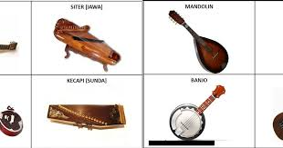 Alat musik tiup umumnya berbentuk panjang seperti pipa.bunyi yang dihasilkan oleh alat music tiup dapat terjadi ketika udara dalam pipa bergetar karena tiupan pemainnya. Alat Musik Dipetik Tradisional