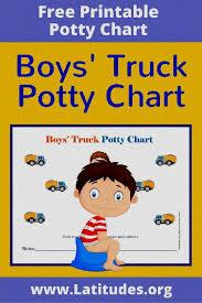 Potty Training Chart For Boy
