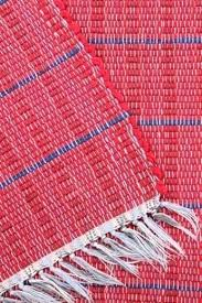 cotton rag rugs washable cotton rag rugs old barn red indigo blue woven striped cotton rag