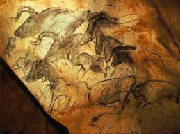 chauvet cave france wall paintings rhinos horses ca 15 000 bce art chauvet cave