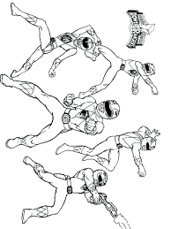 Power Rangers Coloring Page Power Rangers Coloring Pages 5 Power
