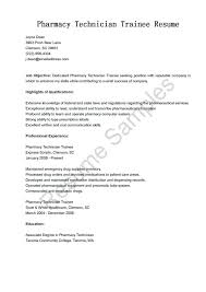 Pharmacy Technician Resume Example Assistant Sample Cover Letter ...