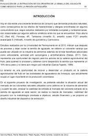 Evaluaci N De La Extracci N De Colorantes De La Semilla Del Aguacate