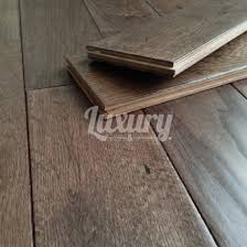 125mm aged chocolate hand sed solid european oak wood flooring 18mm thick