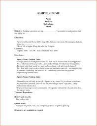 Sample Resume For Bank Teller With No Experience Http Www Job