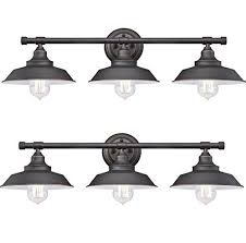 westinghouse iron hill three light indoor wall fixture