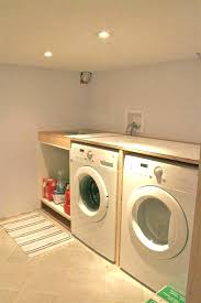 laundry room countertop ideas over washer and dryer for plywood
