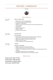 Stay At Home Mom Resume samples. Work Experience