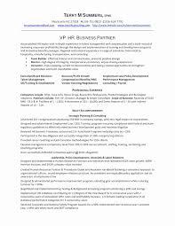 Sample Resume For Hr Hr Manager Resume Inspirational Hr Resume Sample Aurelianmg 29
