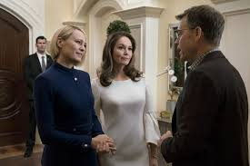 He might've even hit a grand slam. House Of Cards Robin Wright Says Claire Underwood Wants To Create A More Positive Legacy