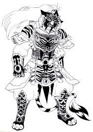 Majestic tiger armor by chibigingi majestic tiger armor by chibigingi