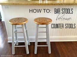 table bar height chairs diy: yes you can make those wood bar stools fit your counter heres an easy diy fix to make bar stools into counter stools and a quick makeover too