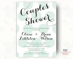Couple Wedding Shower Invitations Printable Couples Shower Invitation Couples Wedding Shower