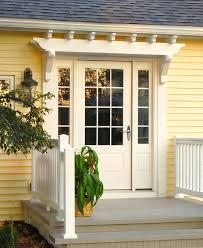 full image for fypon pvc trellis system over entry doorvinyl arbor garage door iron