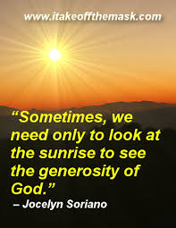 Generosity Quotes Gorgeous The Generosity Of God Best Life Quotes Poems Prayers Words Of