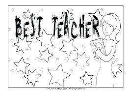 Teacher Coloring Page Trustbanksurinamecom