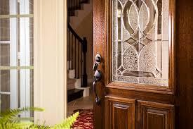 open front door. Real Estate: Open Front Door, Upscale Modern Home. Foyer. Door E