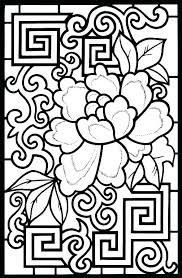 Stained Glass Coloring Pages Printable Free Stained Glass Cross