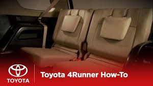 2010 4Runner How-To: 3rd Row Seats | Toyota - YouTube