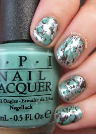 Copycat Claws Triple Water Spotted Nails. Water Marble Spotted ...